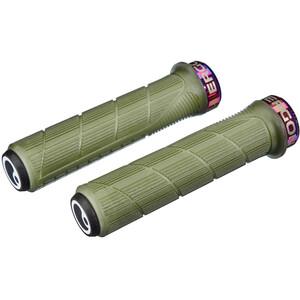 Ergon GD1 Evo Factory Poignées Fin, vert vert