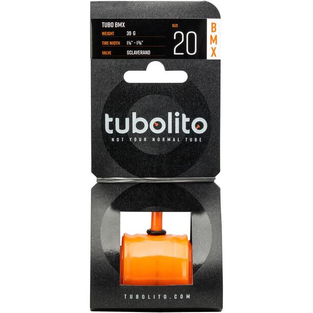 "tubolito Tubo-BMX Tube 20x1.1/8-1.3/8"" orange"