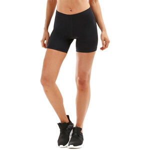"2XU Aspire Comp 4"" Shorts Damen black/silver black/silver"