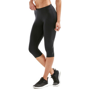2XU Aspire Compression 3/4 Tights Damen black/silver black/silver
