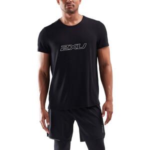 2XU Contender Kurzarmshirt Herren black/white black/white