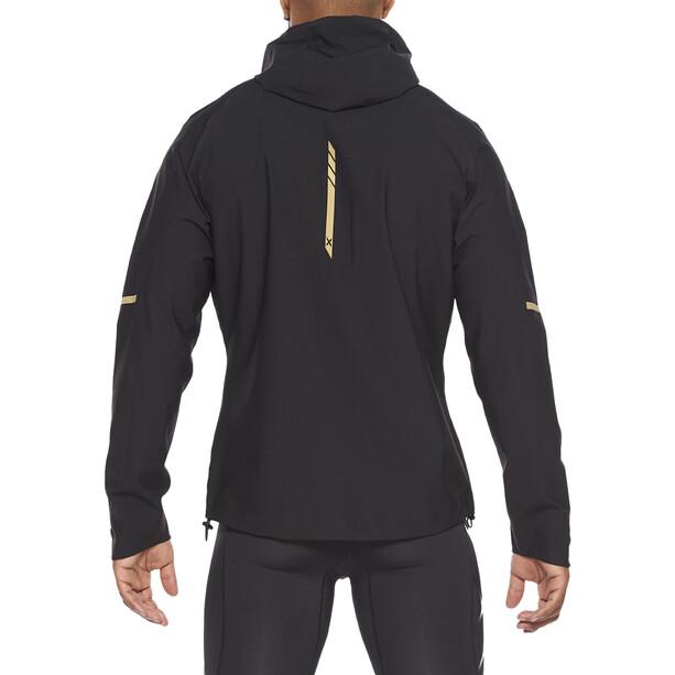 2XU GHST WP Jacke Herren black/gold reflective