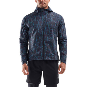 2XU GHST WP Jacke Herren black/gold reflective black/gold reflective