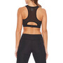 2XU Perform Medium Impact Crop Sport BH Damen black