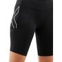 2XU Run Dash Compression Shorts Damen black/silver reflective
