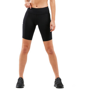 2XU Run Dash Compression Shorts Damen black/silver reflective black/silver reflective