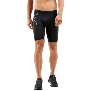 2XU Run Dash Compression Shorts Men, black/silver reflective black/silver reflective