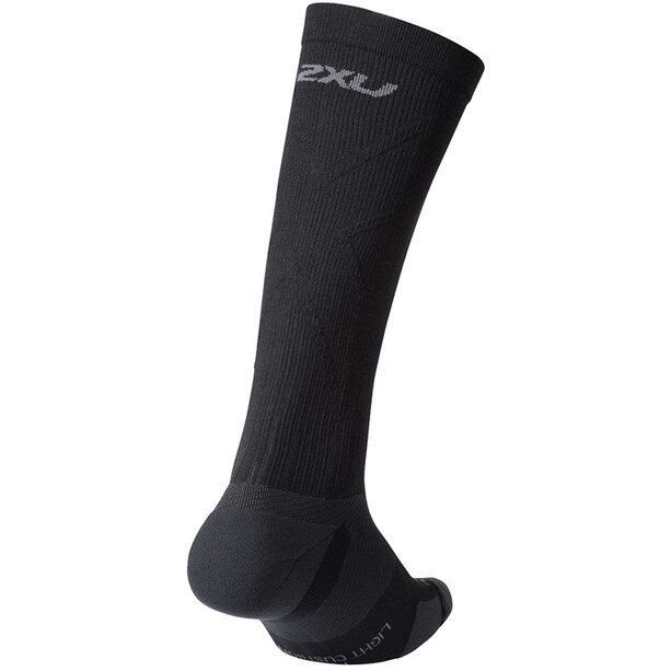 2XU Vectr Light Cushion Full Length Socken black/titanium