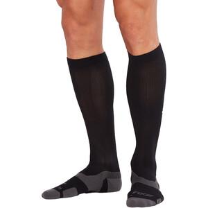 2XU Vectr Light Cushion Full Length Socken black/titanium black/titanium