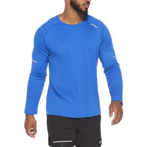 2XU Xvent G2 LS Shirt Men chilled cobalt/silver reflective chilled cobalt/silver reflective