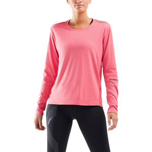 2XU Xvent G2 Langarmshirt Damen pink lift/silver reflective pink lift/silver reflective