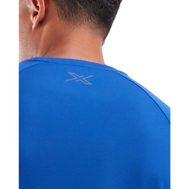 2XU Xvent G2 Kurzarmshirt Herren chilled cobalt/silver reflective