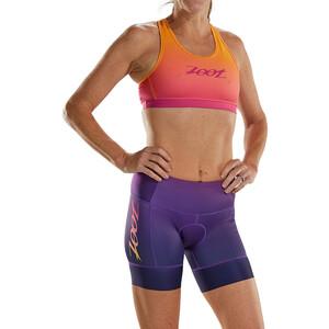 "Zoot LTD Tri 6"" Shorts Plus Women, sunset sunset"