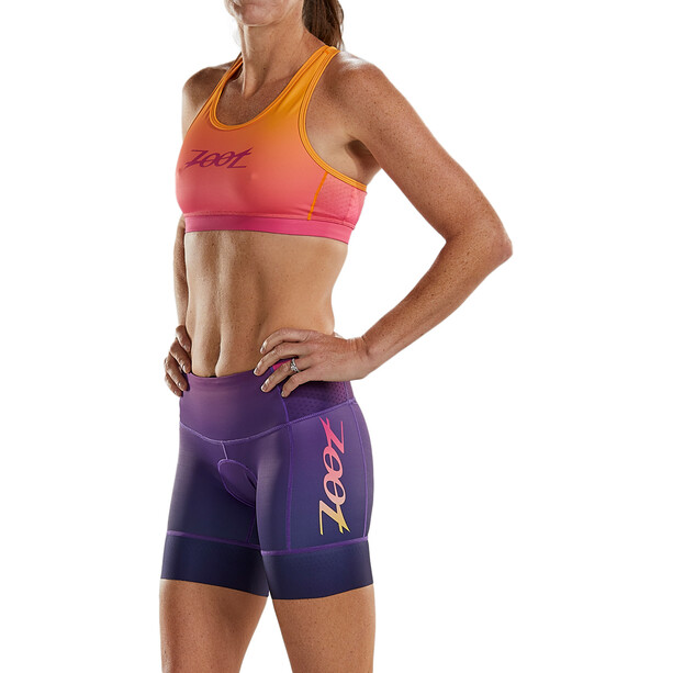 "Zoot LTD Tri 6 ""shorts Plus Dame Rosa/Orange"