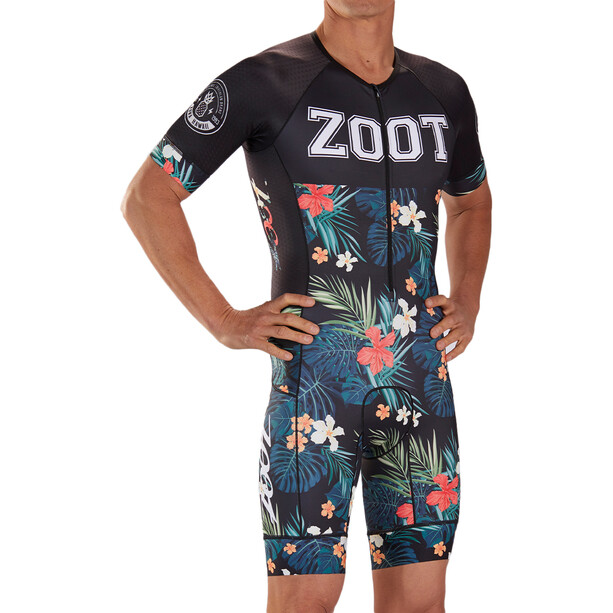 Zoot LTD Tri Aero SS Racesuit Herre Fargerik