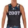 Zoot LTD Débardeur de triathlon Homme, noir/Multicolore