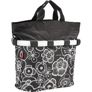 KlickFix Reisenthel Fahrradkorb Oval S schwarz/weiß schwarz/weiß