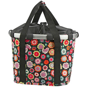 KlickFix Reisenthel Panier de vélo, happy flowers happy flowers
