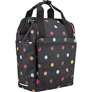 KlickFix Roomy GT Gepäckträgertasche schwarz schwarz