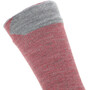 Sealskinz Waterproof All Weather Mid-Cut Socken red/grey marl