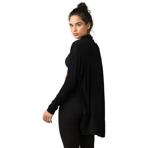 Prana Foundation Wrap Jacket Women black