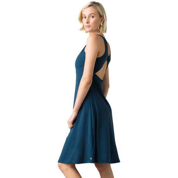 Prana Skypath Dress Women blå