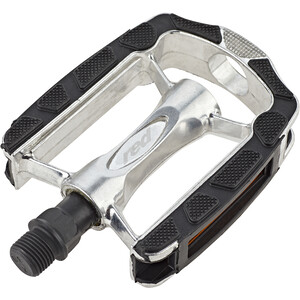 Red Cycling Products Trekking Alu Comp Pedale black/silver black/silver