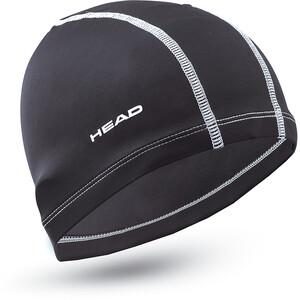 Head Nylon Spandex Badekappe black black