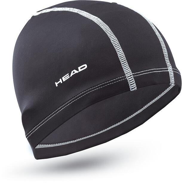 Head Nylon Spandex Badekappe black