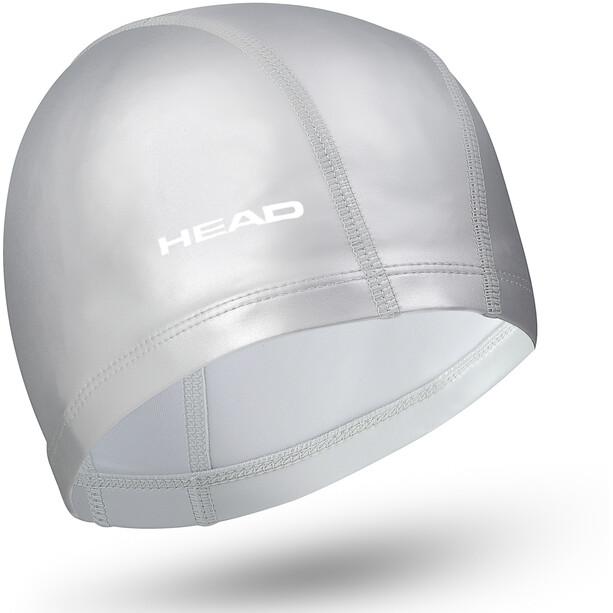 Head Nylon Pu Coating Badekappe silver