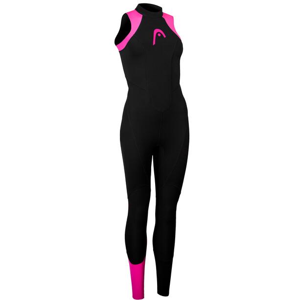 Head OW Explrr LJ 3.2.2 Ärmelloser Wetsuit Damen black/pink