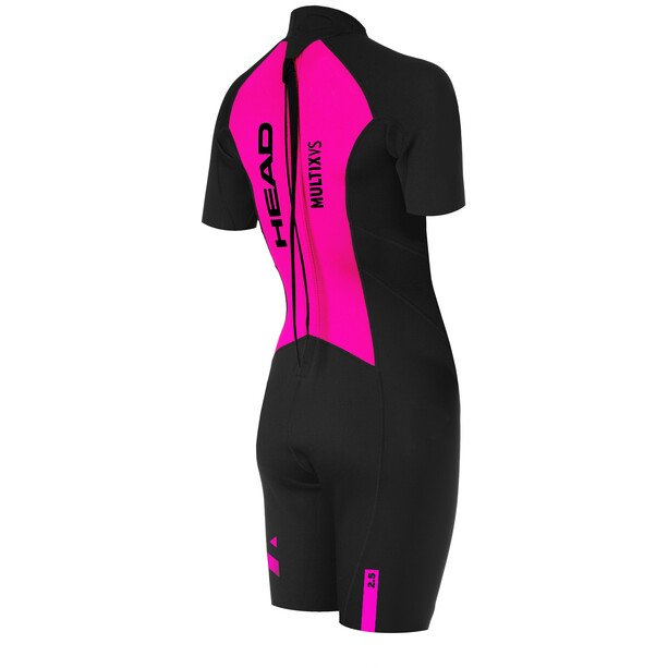 Head OW Multix VL 2,5 Multisport Shorts Damen black/pink