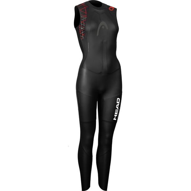 Head OW myBoost Shell LJ 3.2 Wetsuit Damen black/red