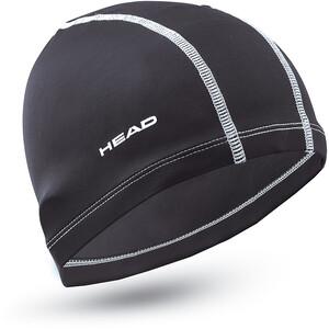 Head Polyester Badekappe black black