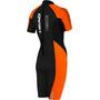 Head Swimrun Multix Shorty 2.5 Wetsuit Women, musta/oranssi