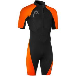 Head Swimrun Multix Shorty 2.5 Wetsuit Herren schwarz/orange schwarz/orange
