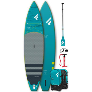 """Fanatic Ray Air Premium/C35 SUP Package 12'6""""x32"""" Inflatable SUP with Paddle and Pump"""