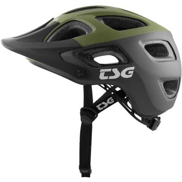 TSG Seek Graphic Design Helm block marsh/olive