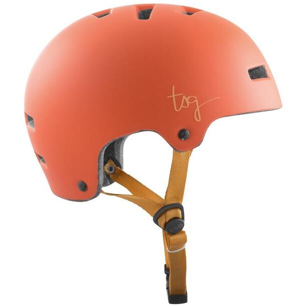 TSG Ivy Solid Color Helm Damen satin light papaya