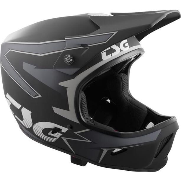 TSG Advance Graphic Design Helmet svart