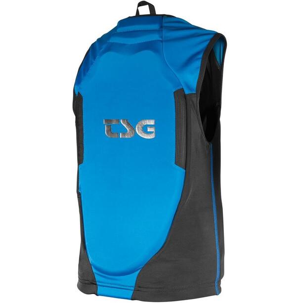TSG Gilet de protection de la colonne vertébrale Adolescents, black/blue