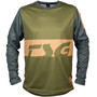 TSG Breeze Langarm Trikot forest green