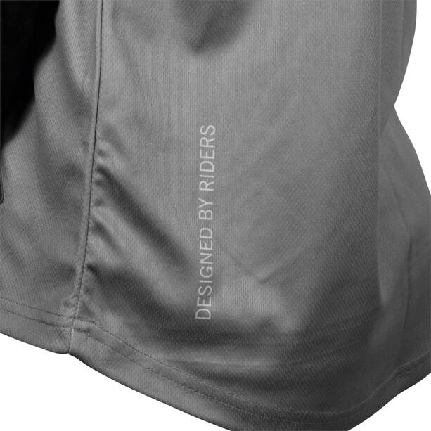 TSG Plain Langarm Trikot black/grey