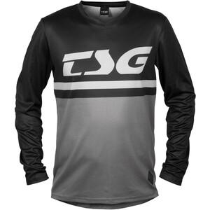 TSG Plain Langarm Trikot black/grey black/grey