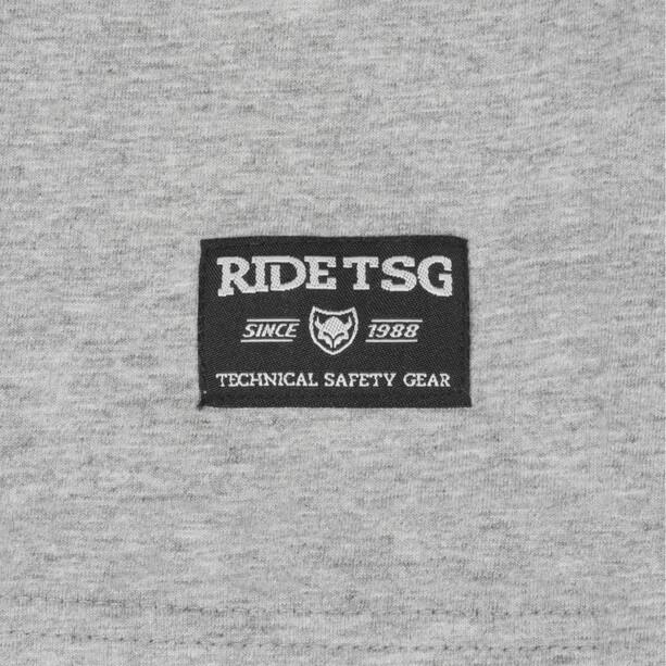 TSG Origins 3/4 Raglan T-Shirt heather grey/red