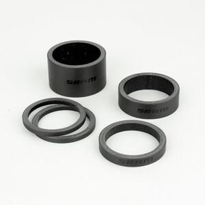SRAM Steuersatz Spacer Set UD Carbon schwarz schwarz