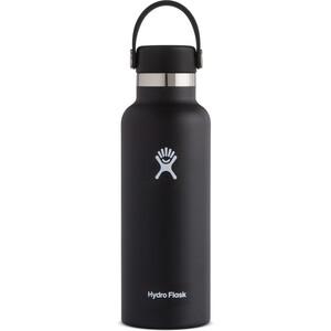 Hydro Flask Standard Mouth Flasche mit Standard Flex Deckel 532ml black black