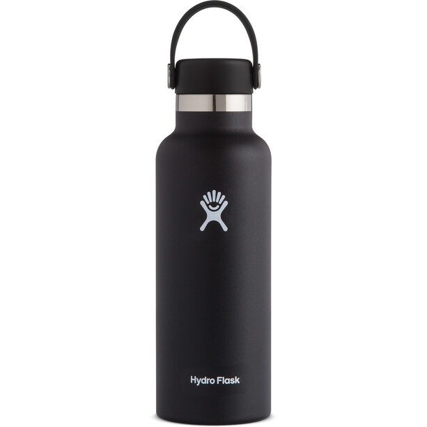 Hydro Flask Standard Mouth Flasche mit Standard Flex Deckel 532ml black