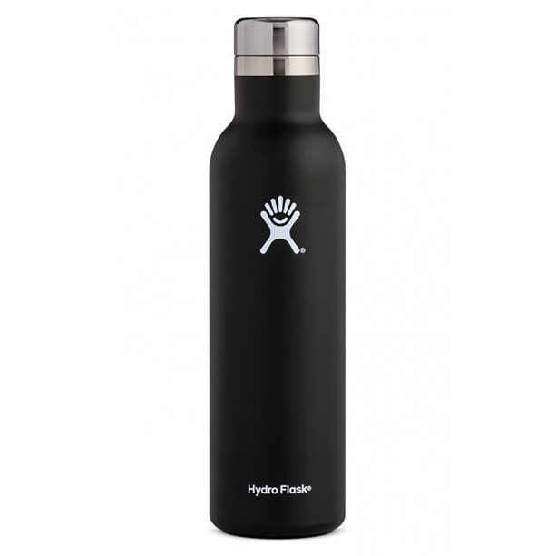 Hydro Flask Bouteille de vin 749ml, noir