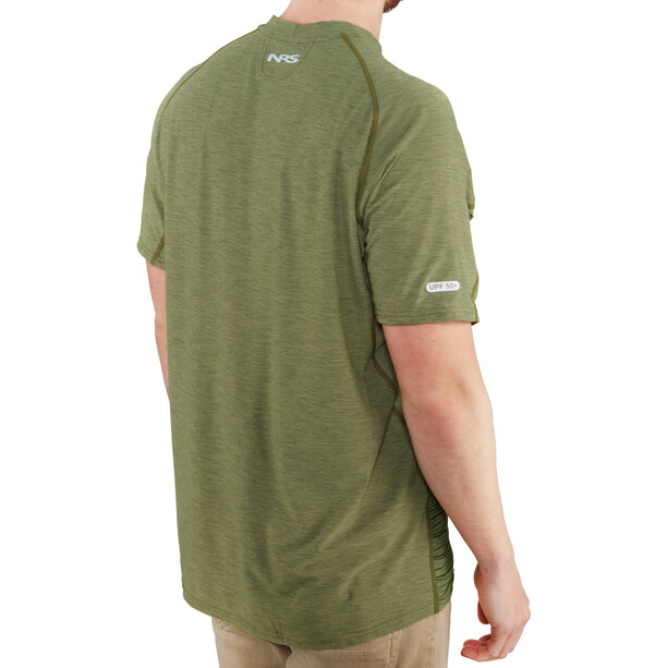 NRS H2Core Silkweight Kurzarm Shirt Herren olive